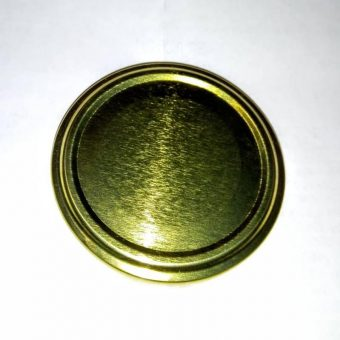 Капачка за буркан Ф53- №24 цвят голд