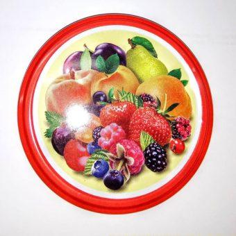 Капачка за буркан Ф82- №27 плодове микс Ф82