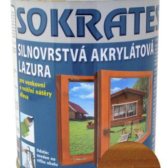 Лак лазурен Сократес/Sokrates 0.7кг Кестен