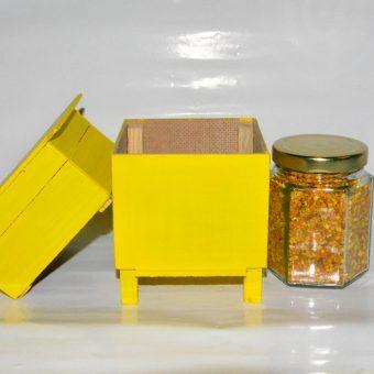 Кошер декоративен малък с прашец.