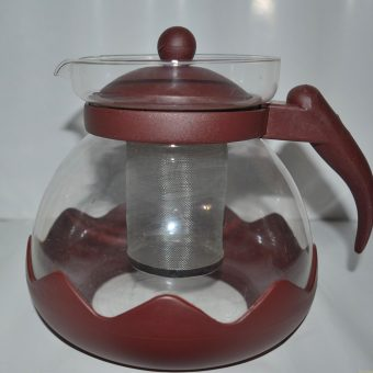 Кана за чай, билки с цедка. 1200мл