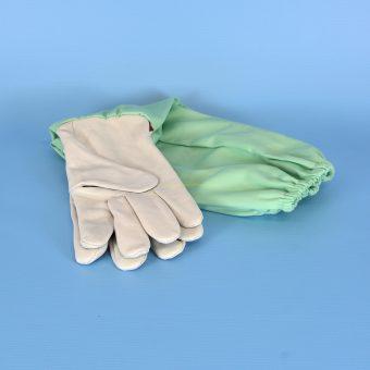 Ръкавици пчеларски естествена кожа стандарт