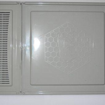 Хранилка за пчели 3.5л сива непрозрачен капак