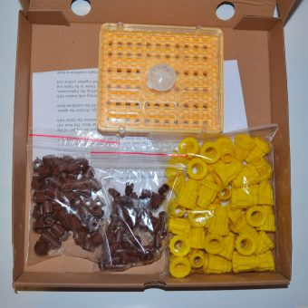 Комплект за производство на пчелни майки с 60 гнезда /тип Йентер/