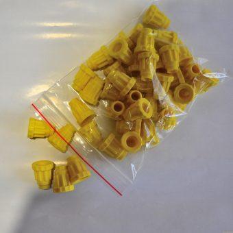 Държач (жълт) за апарат с 60 гнезда /тип Йентер/