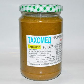 Тахомед - сусамов тахан с мед 0.375кг
