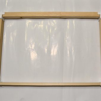 Рамка за кошер плодникова дървена с пластмасови ъгли- сглобена