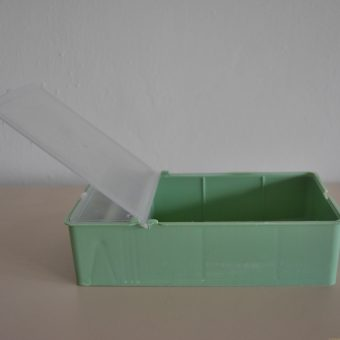Хранилка 0.7л българска прозрачен капак