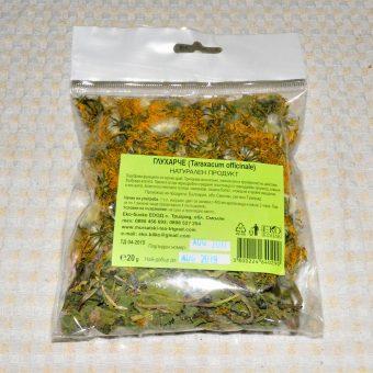 Билки сушени пакет- Глухарче цвят(Taraxacum officinale)