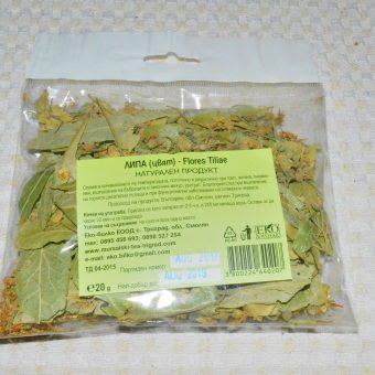 Билки сушени пакет- Липа цвят(Flores Tiliae)