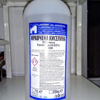 Мравчена киселина 85% 1литър