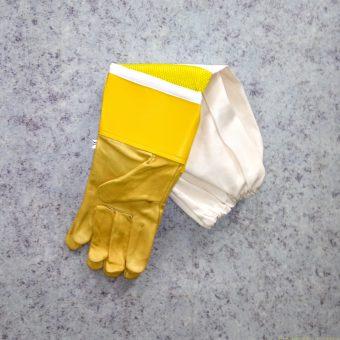Ръкавици естествена кожа дишащи