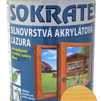 Лак лазурен Сократес/Sokrates 0.7кг Кифер