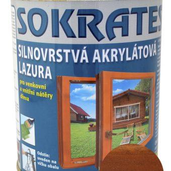 Лак лазурен Сократес/Sokrates 0.7кг Орех