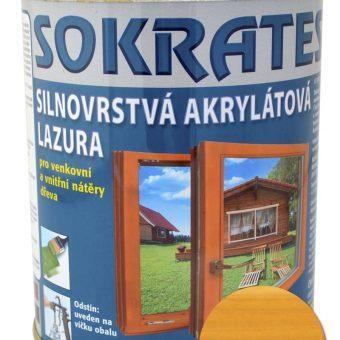 Лак лазурен Сократес/Sokrates 0.7кг Хемлок