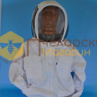 Блузон пчеларски памук, плътен